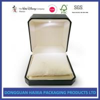 LED Light Jewelry Gift Boxes , Luxury Engagement Ring Box Screen Printing Manufactures