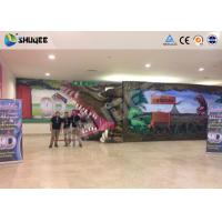 6D Mobile theater with whole motion equipment ,more excited and special design Manufactures