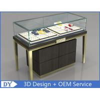 Custom Jewelry Display Cases With Sliding door / Pull Out Door Manufactures