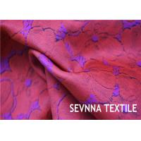 Yarn Repreve Nylon Stretch Fabric , Polyamide Woven Nylon Fabric For Yoga Wear Manufactures
