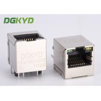 180 degree TOP ENTRY Magnetics jack RJ45 connector with transformer PCB Mount Manufactures