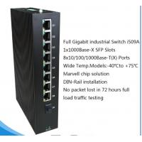Buy cheap 8×10/100/1000BaseT(X) ports and 1×1000BaseX SFP Gigabit Industrial Ethernet from wholesalers