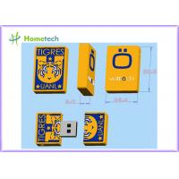 China Mini TIGRES Customized USB Flash Drive 8GB / 16GB , football team logo 1GB / 2GB on sale