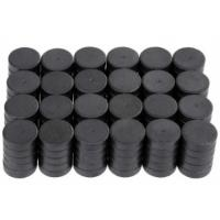 Y30BH Disc Shape Ferrite Magnet Round Disk Magnets Dia 18mm * 5mm Manufactures