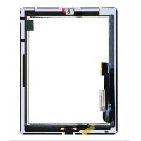 3M Sticker Digitizer Assembly Ipad 4 Touch Replacement With Home Button Manufactures