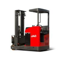 Warehouse Electric Reach Truck Forklift Lift Capacity 2 Ton Max Lift Height 12 M Manufactures