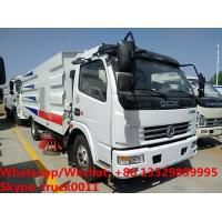 2019s factory sale cheapest price CLW brand diesel road sweeping and washing vehicle, street sweeper and cleaning truck Manufactures