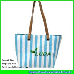 LUDA discount designer handbags cheap straw beach totes purse Manufactures