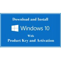 100% Online Activation Microsoft Windows 10 Pro Key Code License Sticker Valid Forever Manufactures