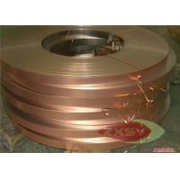 Custom Size ASTM C1100 Thin Copper Foil Roll Hi-Tensile Strength Manufactures
