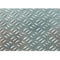 Quality 1300mm Maximum 3 Bar Aluminum Tread Plate Alloy 1100 H24 1.0mm - 6.35mm for sale