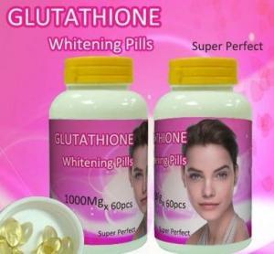 China Skin bleaching Glutathione Whitening Pills / Capsules , Skin Lightening properties on sale