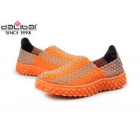 Comfortable Open Toed Woven Stretch Shoes Ladies Fashion Sandals BSCI Certification Manufactures