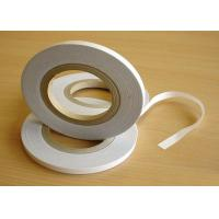 China Super Strong Double Sided Tape Tissue Paper Backing With Solvent Base Glue on sale