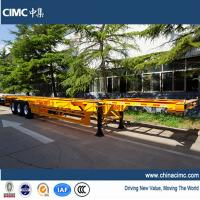 CIMC 40ft gooseneck container trailer chassis for sale Manufactures
