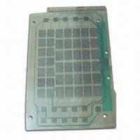 Flexible PCB with Silver Paste Printed on Double 0.1mm PET, Ideal for Membrane Switches and Toys Manufactures