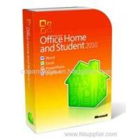 HOT selling  Office 2010 Home and student   product key card (PKC) Manufactures