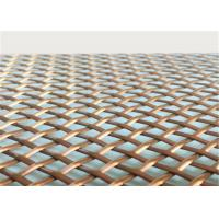 Architectural  Woven Decorative Wire Mesh For Building Facades Claddings Manufactures