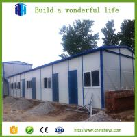 EPS sandwich panel prefab movable house with good drainage system Manufactures