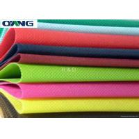 Non Toxic Polypropylene Spunbond Nonwoven Fabric For Home Textile / Hospital Manufactures
