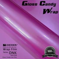 China Gloss Candy Hot Pink Vinyl Wrap Film - Gloss Hot Pink wholesale