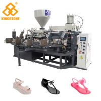 China Energy Saving Rotary Type Ladies PVC Shoes Making Machine For Sandals Slipper Jelly Shoes short boots on sale