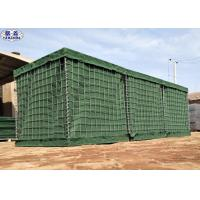 1 x 1 x 1 Hesco Barrier Hesco Bags Corrosion Resistance Strong Protection