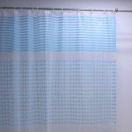Vinyl Printed Shower Curtain, Made of PVC, PE, PEVA, EVA Materials Manufactures