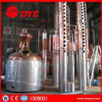 3000L customised copper steam heating Commercial Distilling Equipment for vodka Manufactures