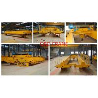 Internetional Certificated 20 Ton Optional overhead bridge mobile crane for sale Manufactures