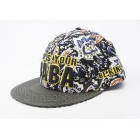Cotton Youth Fitted Baseball Caps Snapback 6 Panel Colorful Customized Manufactures