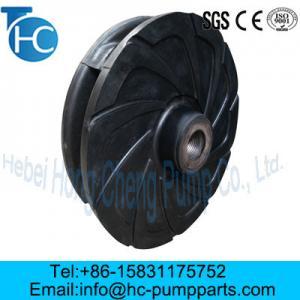 Quality Slurry Pump Parts Wear Resistance Impellers for sale
