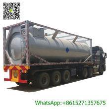 30FT ISO Propane CH4 LPG Tank Container Propane, Isobutane, Isobutene, Liquid Ammonia, Dimethyl Ether Trichlorosilane