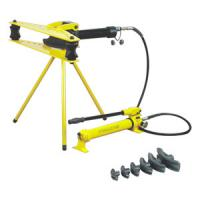 Jeteco Tools brand hydraulic hand pump operated hydraulic pipe bender FWG-2 for bending steel tube up to 2