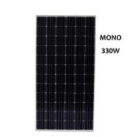Cheap 330W Monocrystalline Silicon Solar Panel With Junction Box 72 Cells Manufactures