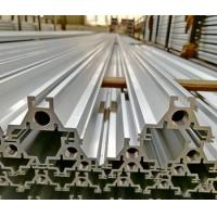 Cheap price silver anodized 6063 T6 extrusion aluminum for led light t slot framing Manufactures