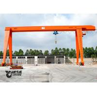 MH Type Rail Mounted Indoor Gantry Crane , Portable Gantry Crane Easy To Use Manufactures