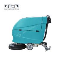 China V5 automatic floor scrubber  automatic floor cleaning machine hand held electric scrubber on sale