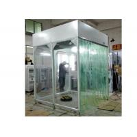 0.175 KW Vertical Airflow Booth Steel With Powder Coated Modular Structure Manufactures