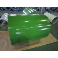 Al-Zn Coated Prepainted Steel Coil Color Strip Galvanized / Galvalume Manufactures