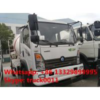 factory sale best price Sino truck 4x2 concrete mixer truck,good price SINOTRUK Wangpai 4m3 Mixer Truck for sale Manufactures