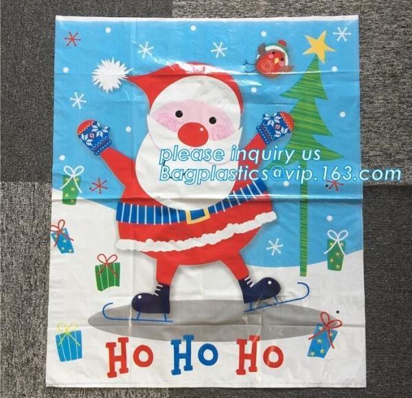 Quality Large Santa Sacks Cotton Bags 100%Cotton Christmas Drawstring Bag,Christmas socks gift bag,Santa Sack For Decoration pac for sale