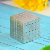 China Kellin Neodymium  Magnetic Cube 216 Pcs 5mm Magnetic Block Building Square Buck Ball Educational Toys for Kids on sale