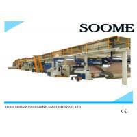 Fully Automatic Corrugated Cardboard Production Line 5 Layers 1 Year Warranty Manufactures