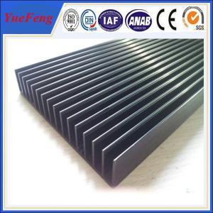 factory extrusion fin aluminum heatsink / aluminum radiator profile / aluminum price kgs Manufactures
