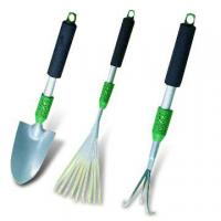 China 3pcs Garden Tool Set with Aluminum Handle on sale