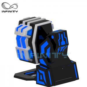 Fiberglass 9D Virtual Reality Simulator Rotating Equipment / 360 King Kong 9DVR Cinema Manufactures