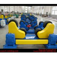 Alignment Adjust Fit Up Pipe Welding Rotator , Welding Turning Roll for Tank or Cylinder Manufactures