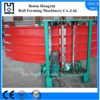 Vertical Metal Roof Panel Machine, 0.3 - 0.8mm Thickness Corrugated Metal Machine Manufactures