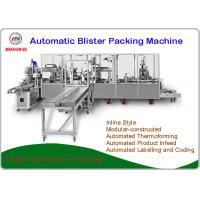 Buy cheap Fully Automatic Blister Packing Machine PLC Control New Condition Servo Motor from wholesalers